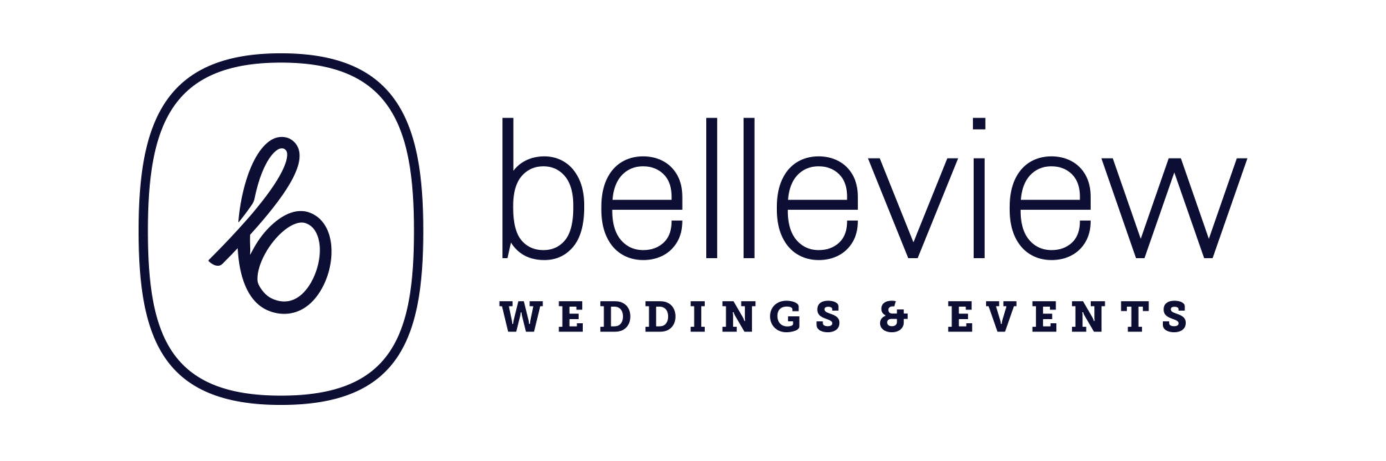 Logo for Belleview Weddings & Events